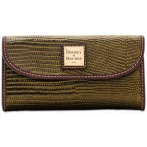 NWT! Dooney & Bourke Lizard Embossed Wallet